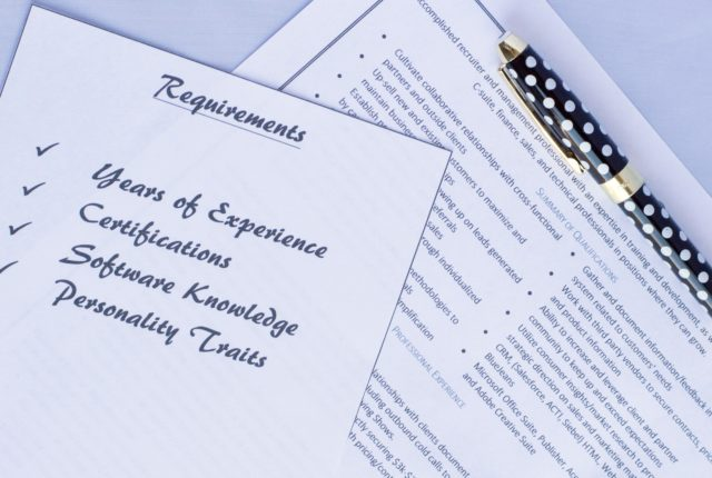 Applying for Jobs Make Sure You're Qualified, but Don't Aim for Perfection