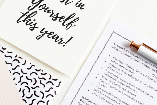 Why You Should Invest In Yourself This Year