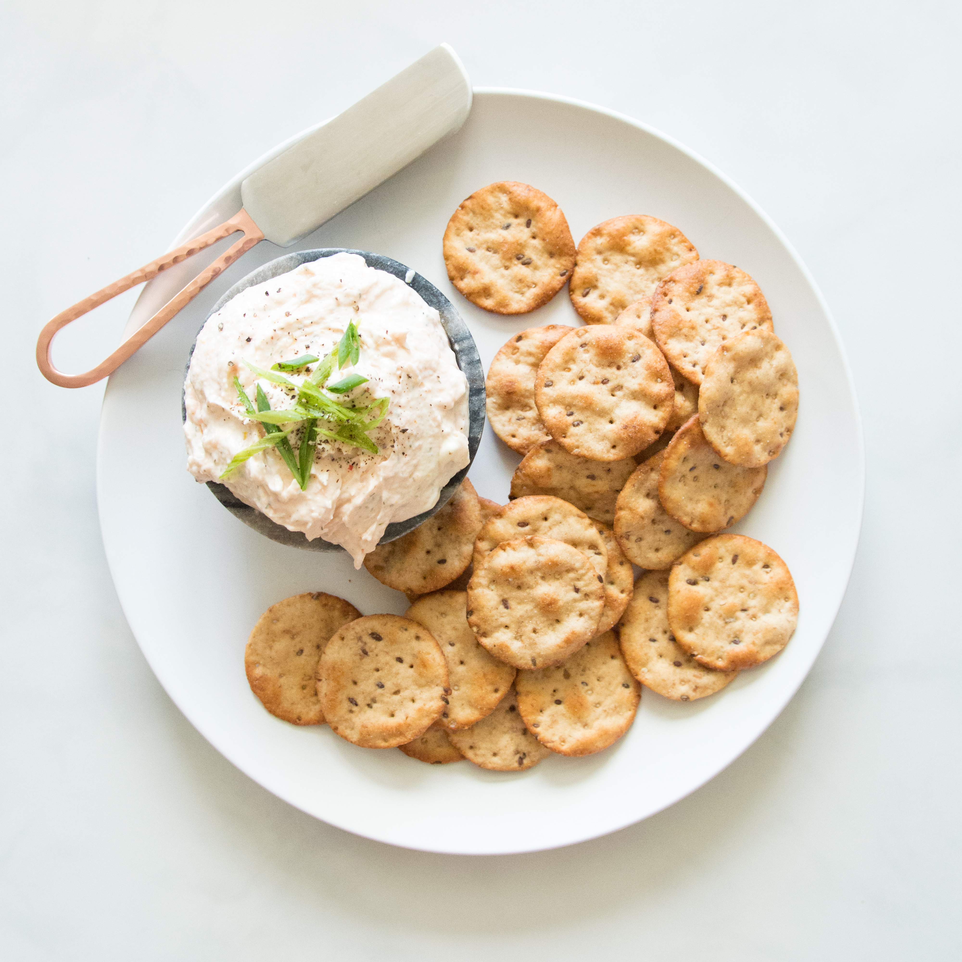 Reduced Guilt Salmon Dip