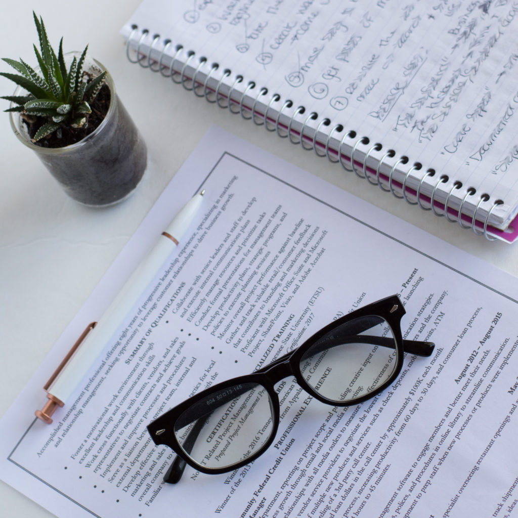 ditch the passive voice  use active verbs in your resume