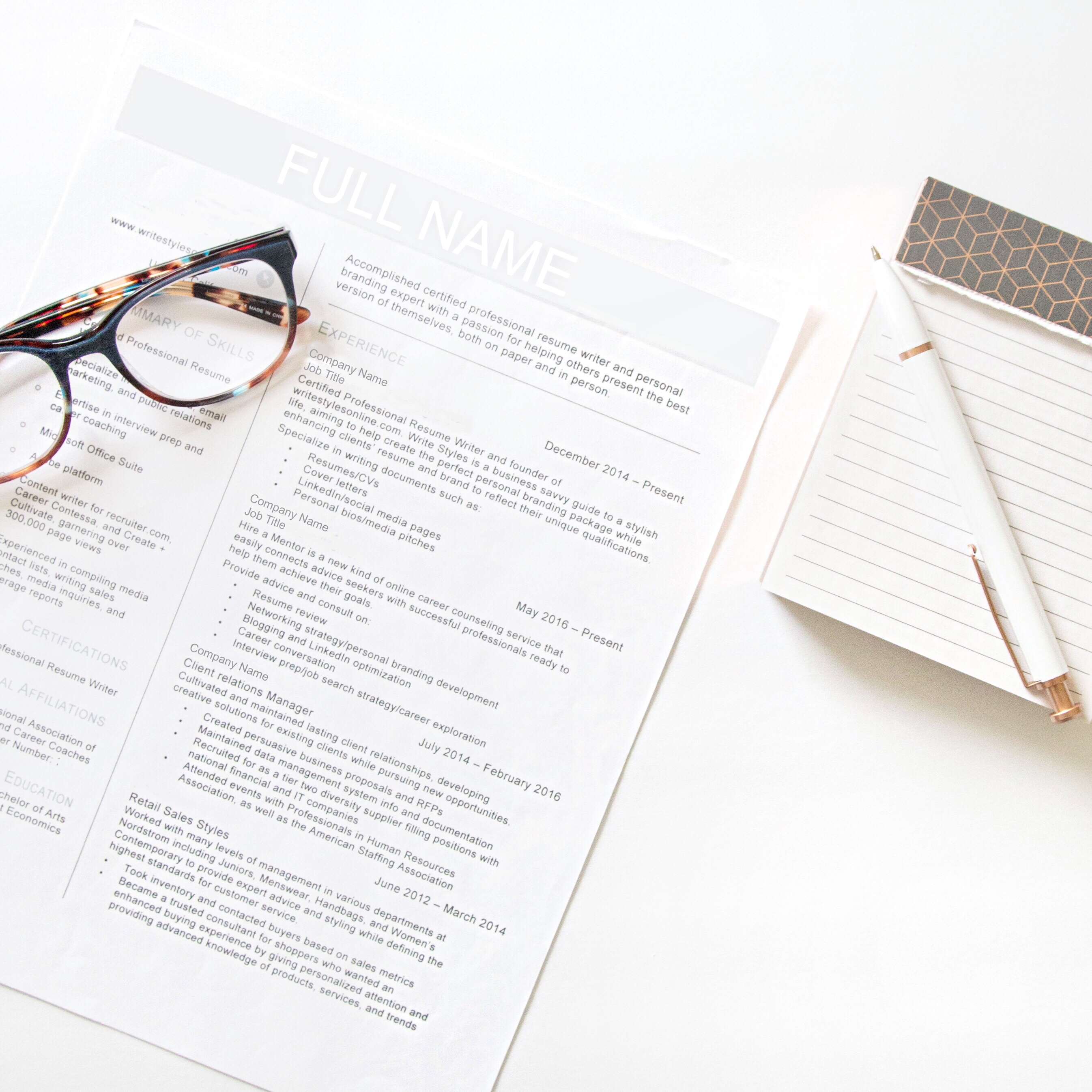 Sample Resume for First Job - 8+ Examples in Word, PDF