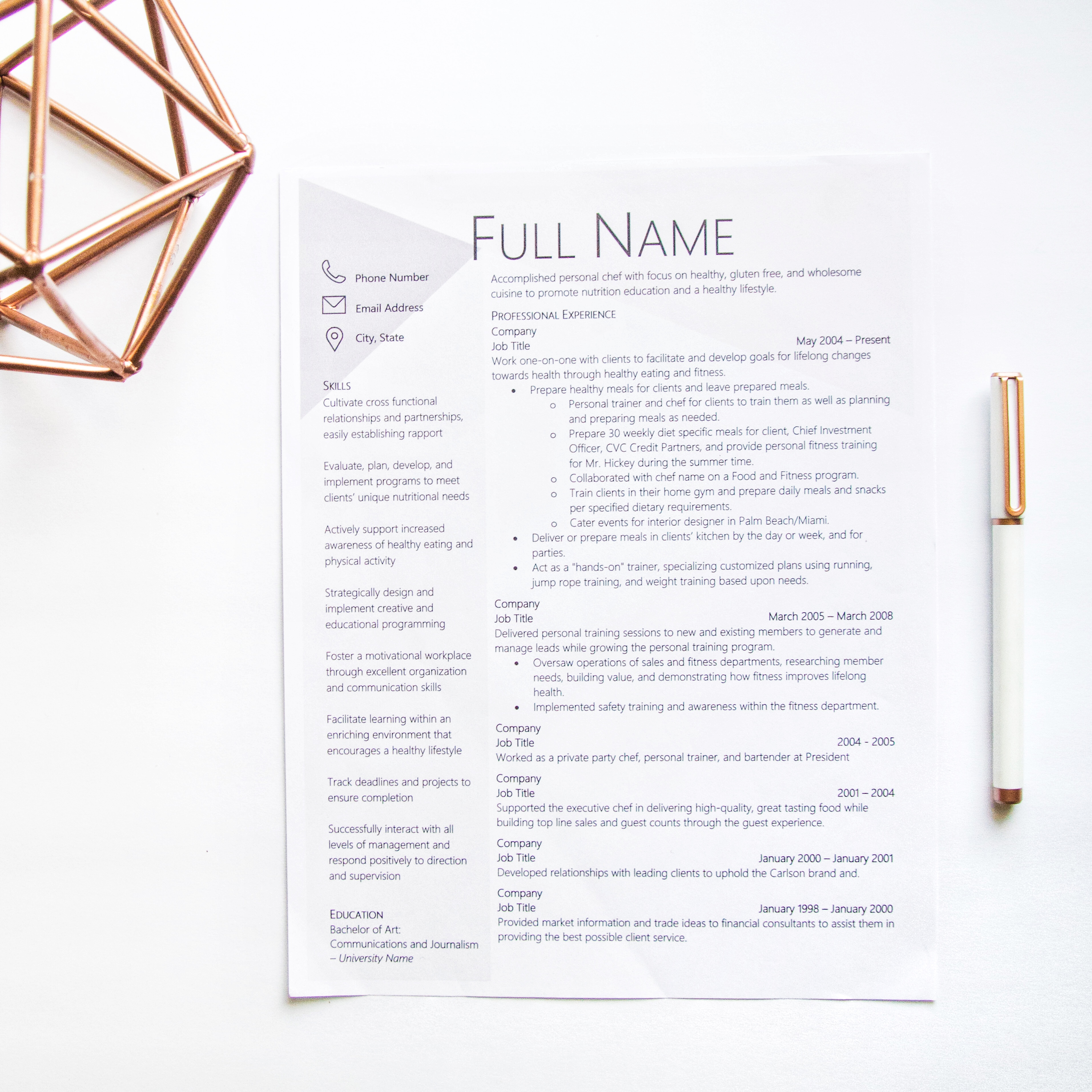 How To Craft The Perfect Job Description On Your Resume Write Styles