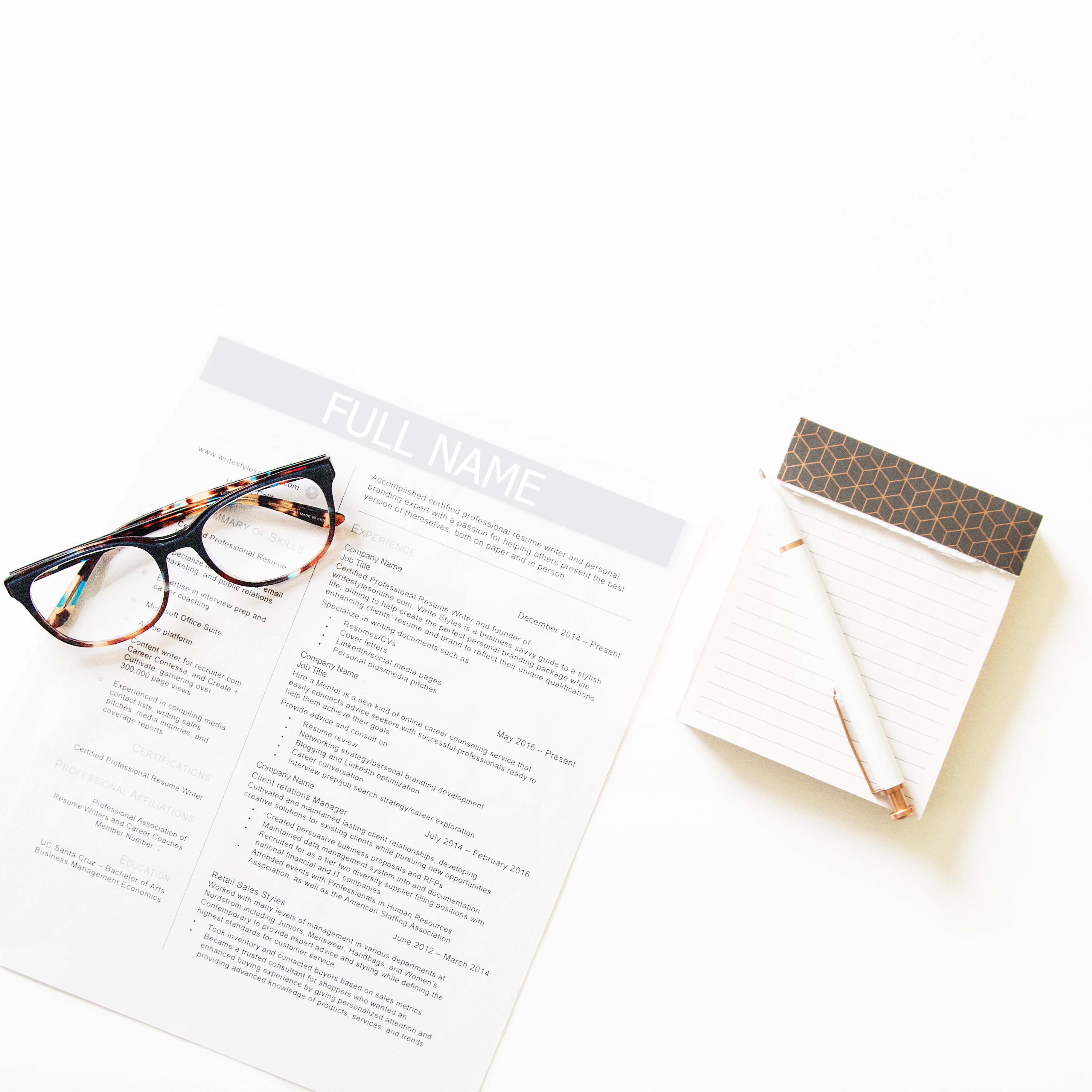 How Long Should A Resume Be? - Write Styles